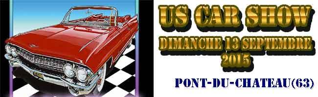 US Car Show, rassemblement de voitures am�ricaines � Pont-du-Chateau (63)