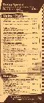 menus du restaurant : LE CALIFORNIA page 05