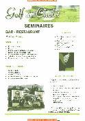 menus du restaurant : BAR RESTAURANT DU CHENE LANDRY page 02